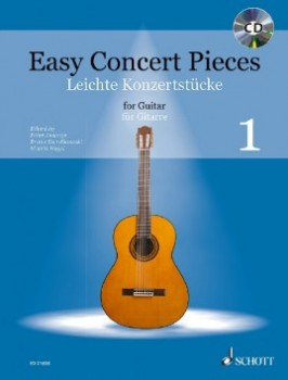 Easy Concert Pieces 1  available at Guitar Notes.