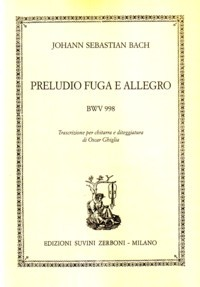 Prelude, Fugue & Allegro, BWV998(Ghiglia) available at Guitar Notes.