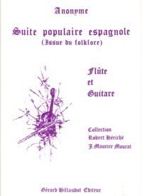 Suite populaire espagnole(Mourat) available at Guitar Notes.