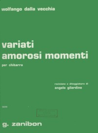Variati amorosi momenti available at Guitar Notes.