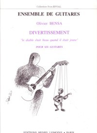 Divertissement [6gtr] available at Guitar Notes.
