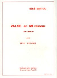 Valse in e minor 'Dolinda' available at Guitar Notes.