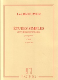 Etudes Simples, Vol.4 available at Guitar Notes.