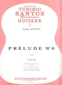 Prelude no.6 available at Guitar Notes.
