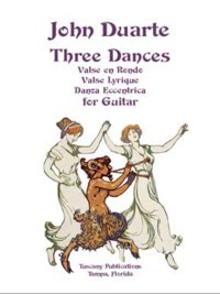 Three Dances opp.128,137 & 138 available at Guitar Notes.