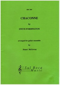 Chaconne [3-5 Gtr] available at Guitar Notes.