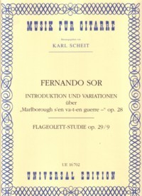Variations on Marlborough, op.28(Scheit) available at Guitar Notes.