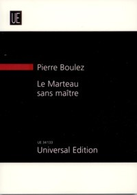 Le Marteau sans Maitre [score] available at Guitar Notes.