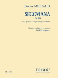 Segoviana, op.366 (Zigante) available at Guitar Notes.