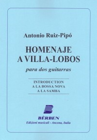 Homenaje a Villa Lobos available at Guitar Notes.