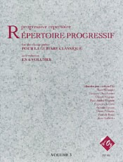 Repertoire Progressif Vol.3 available at Guitar Notes.