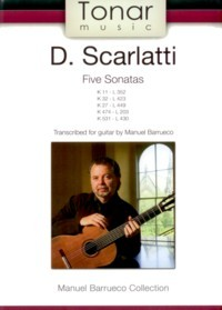 Five Sonatas (Barrueco) available at Guitar Notes.