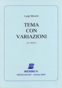 Tema con variazioni available at Guitar Notes.