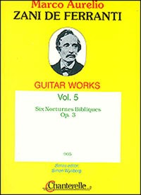 Guitar Works, Vol.5: Six Nocturnes available at Guitar Notes.