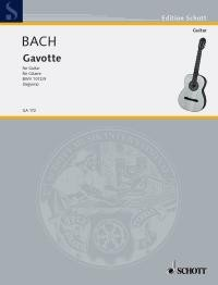 Gavotte BWV1012(Segovia) available at Guitar Notes.