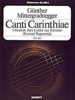 Canti Carinthiae(Ragossnig) available at Guitar Notes.