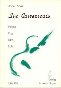Six Guitaricals available at Guitar Notes.