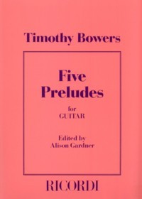 Five Preludes available at Guitar Notes.