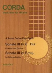 Sonata III BWV1035(Buttmann) available at Guitar Notes.
