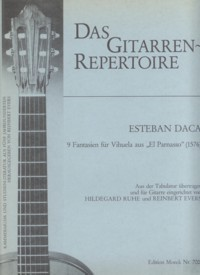 9 Fantasias(Evers/Ruhe) available at Guitar Notes.