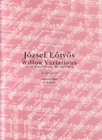 Willow Variations, op.5 available at Guitar Notes.