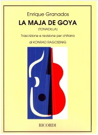 La Maja de Goya(Ragossnig) available at Guitar Notes.