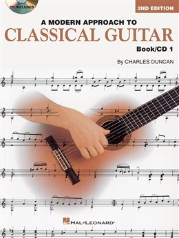 A Modern Approach to Classical Guitar, Book 1 available at Guitar Notes.