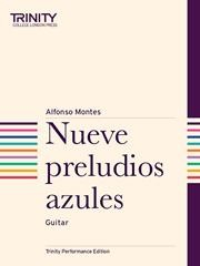 Nueve preludios azules available at Guitar Notes.
