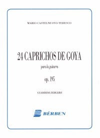 24 Caprichos de Goya op.195 Vol.3 available at Guitar Notes.