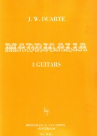 Madrigalia available at Guitar Notes.