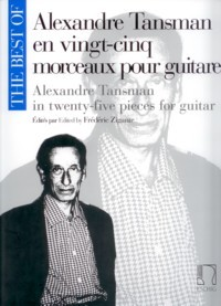 The Best of Alexandre Tansman available at Guitar Notes.