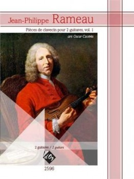Pieces de Clavecin Vol.1 (Caceres) available at Guitar Notes.