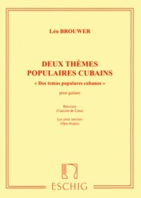 Deux Themes Populaires Cubains available at Guitar Notes.
