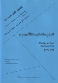 Lute Suite in a-minor, BWV995 (Hoppstock) available at Guitar Notes.