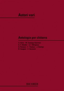 Antologia per Chitarra di Autori Moderni available at Guitar Notes.