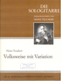 Volksweise mit Variation available at Guitar Notes.