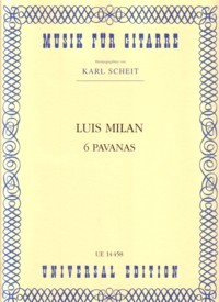 6 Pavanas(Scheit) available at Guitar Notes.