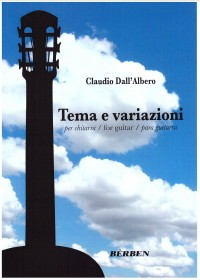 Tema e variazioni available at Guitar Notes.