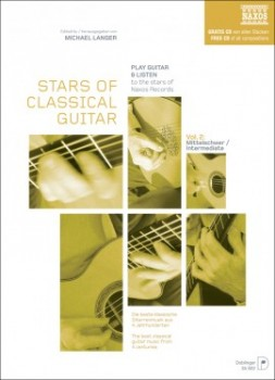Stars of Classical Guitar Vol.2 available at Guitar Notes.