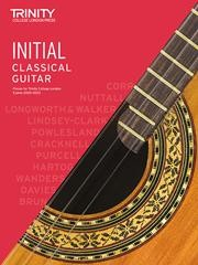 Classical Guitar Exam Pieces 2020-23 Initial Grade available at Guitar Notes.