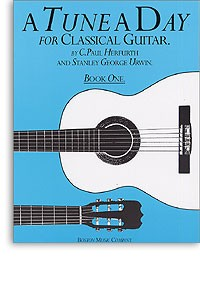 A Tune a Day for Classical Guitar, Book 1 available at Guitar Notes.