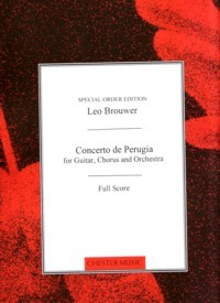 Concerto de Perugia [1999] available at Guitar Notes.