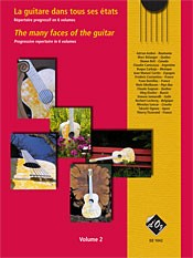 The Many Faces of the Guitar, Vol.2 available at Guitar Notes.