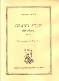 Grand Solo, op.14(Chiesa) available at Guitar Notes.
