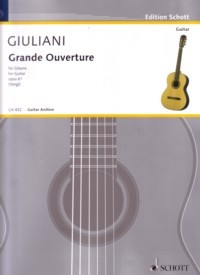 Grande Ouverture, op.61(Stingl) available at Guitar Notes.