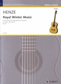 Royal Winter Music, Sonata no.2 available at Guitar Notes.