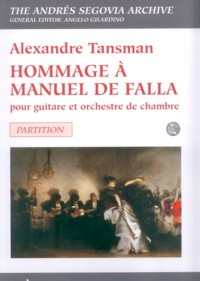 Hommage a Manuel de Falla available at Guitar Notes.