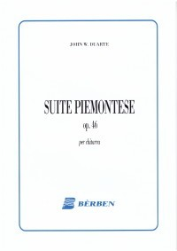 Suite Piemontese, op.46 available at Guitar Notes.