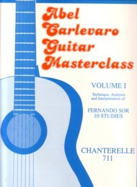 Guitar Masterclass I: Sor-10 Studies available at Guitar Notes.