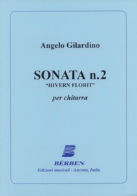 Sonata no.2 'Hivern Florit' [1986] available at Guitar Notes.